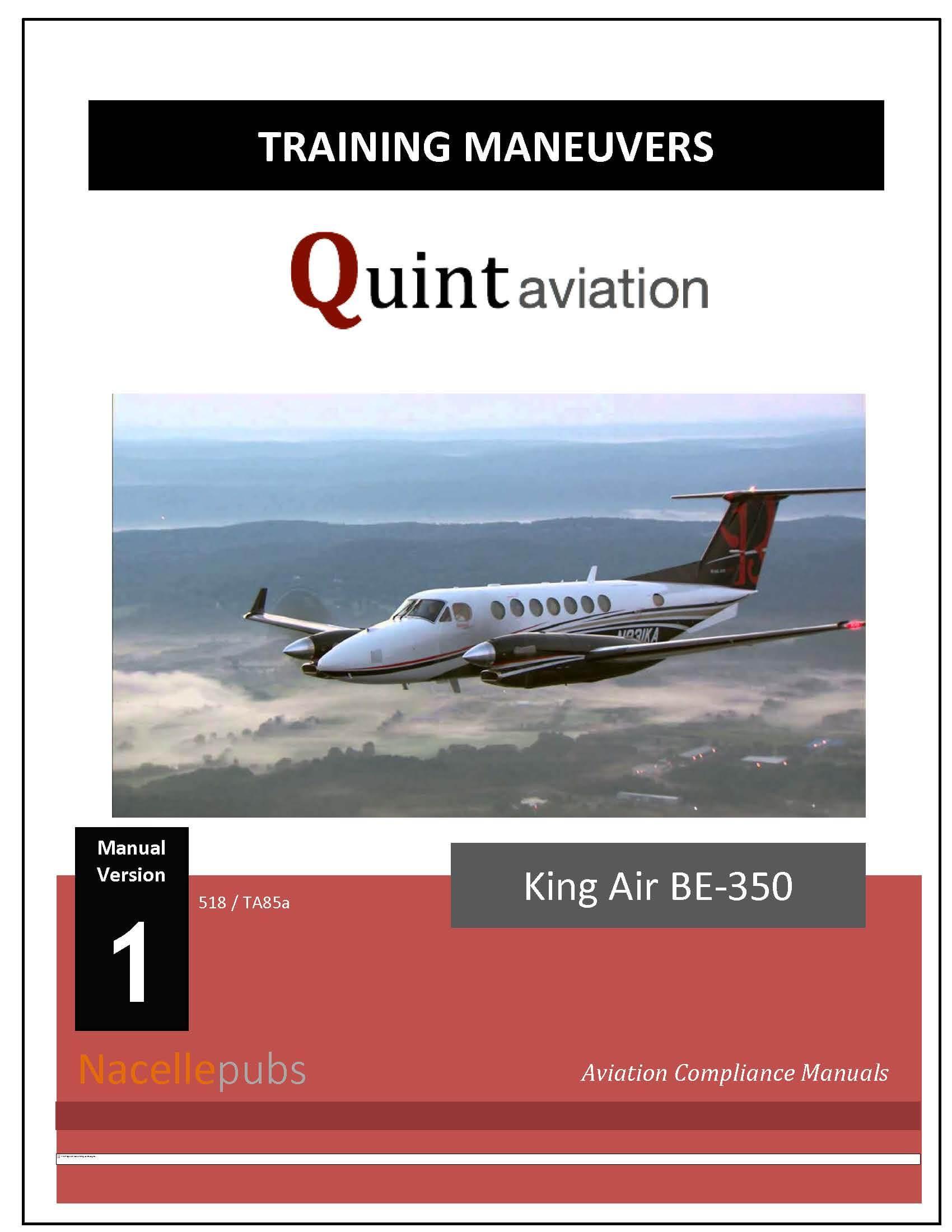 FAA Part 135 Training Program - Airplane Maneuvers