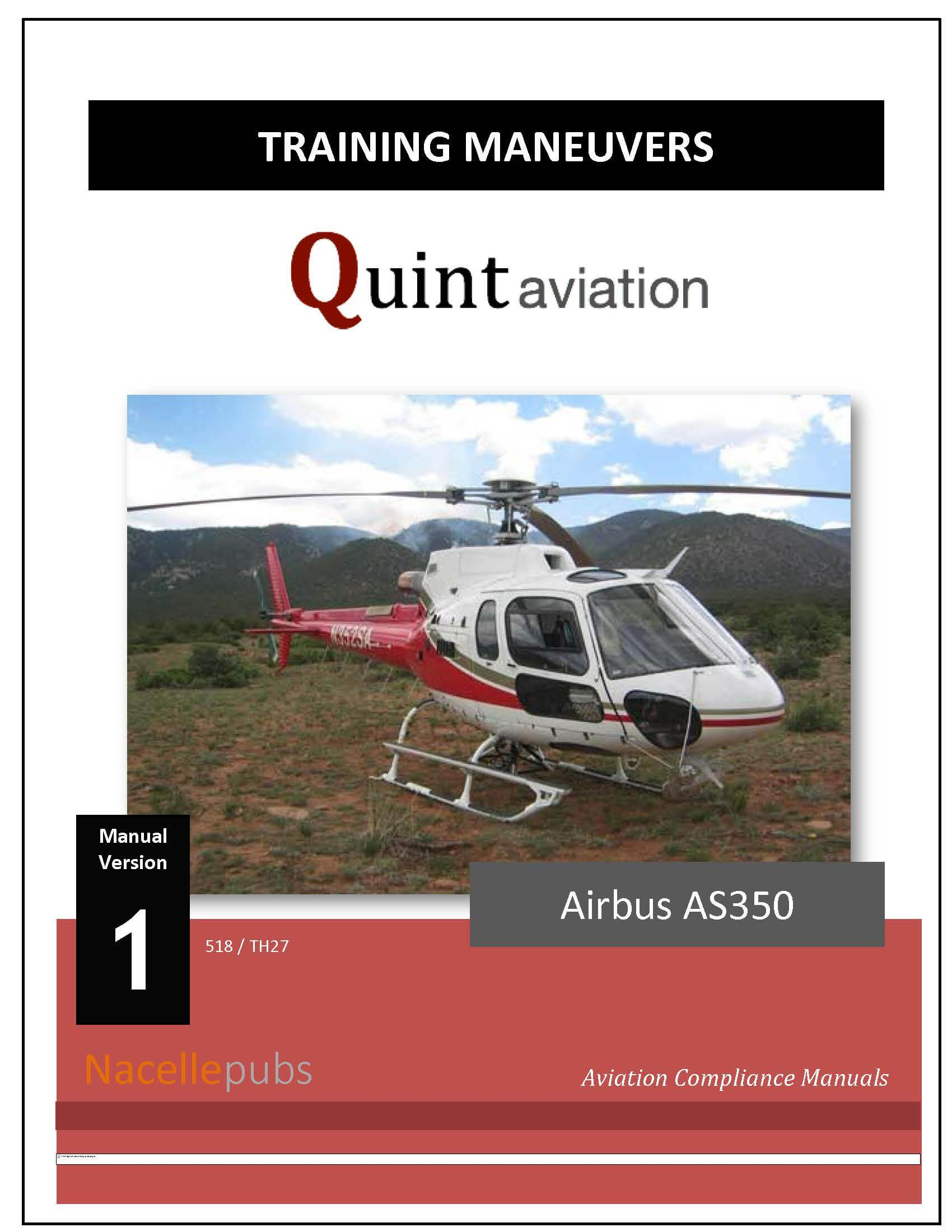 FAA Part 135 Training Program - Helicopter Maneuvers