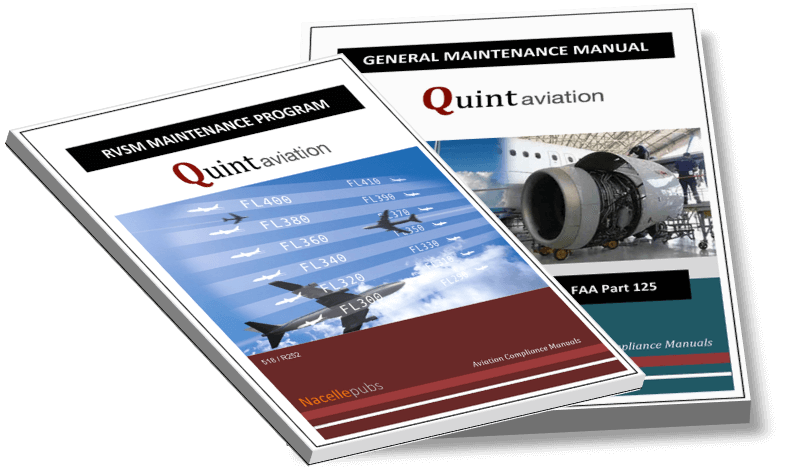 Nacelle Publications Printed and Bound Manuals
