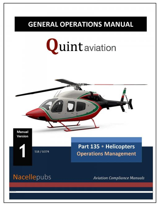General Operations Manual - Helicopters