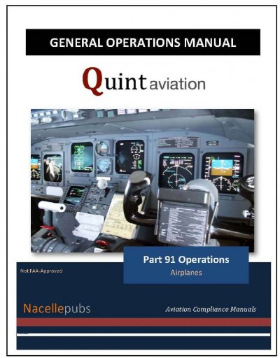 Part 91 General Operations Manual